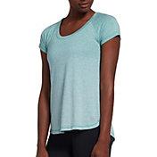 CALIA by Carrie Underwood Women's Everyday Dip Dye Heather T-Shirt