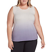 CALIA by Carrie Underwood Women's Plus Size Everyday Printed Tank Top