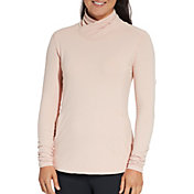 CALIA by Carrie Underwood Women's Warm Mock Neck Long Sleeve Shirt