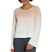 CALIA by Carrie Underwood Women's Effortless Printed Zipper Sweatshirt