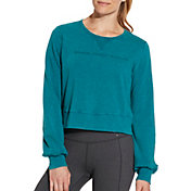 CALIA by Carrie Underwood Women's Effortless Pullover Sweatshirt