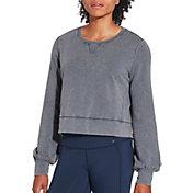 CALIA by Carrie Underwood Women's Effortless Pullover Sweatshirt