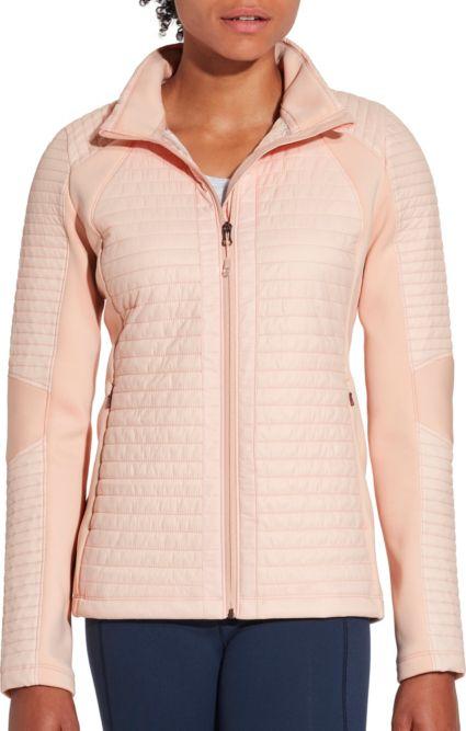 CALIA by Carrie Underwood Full Zip Puffer Hybrid Jacket