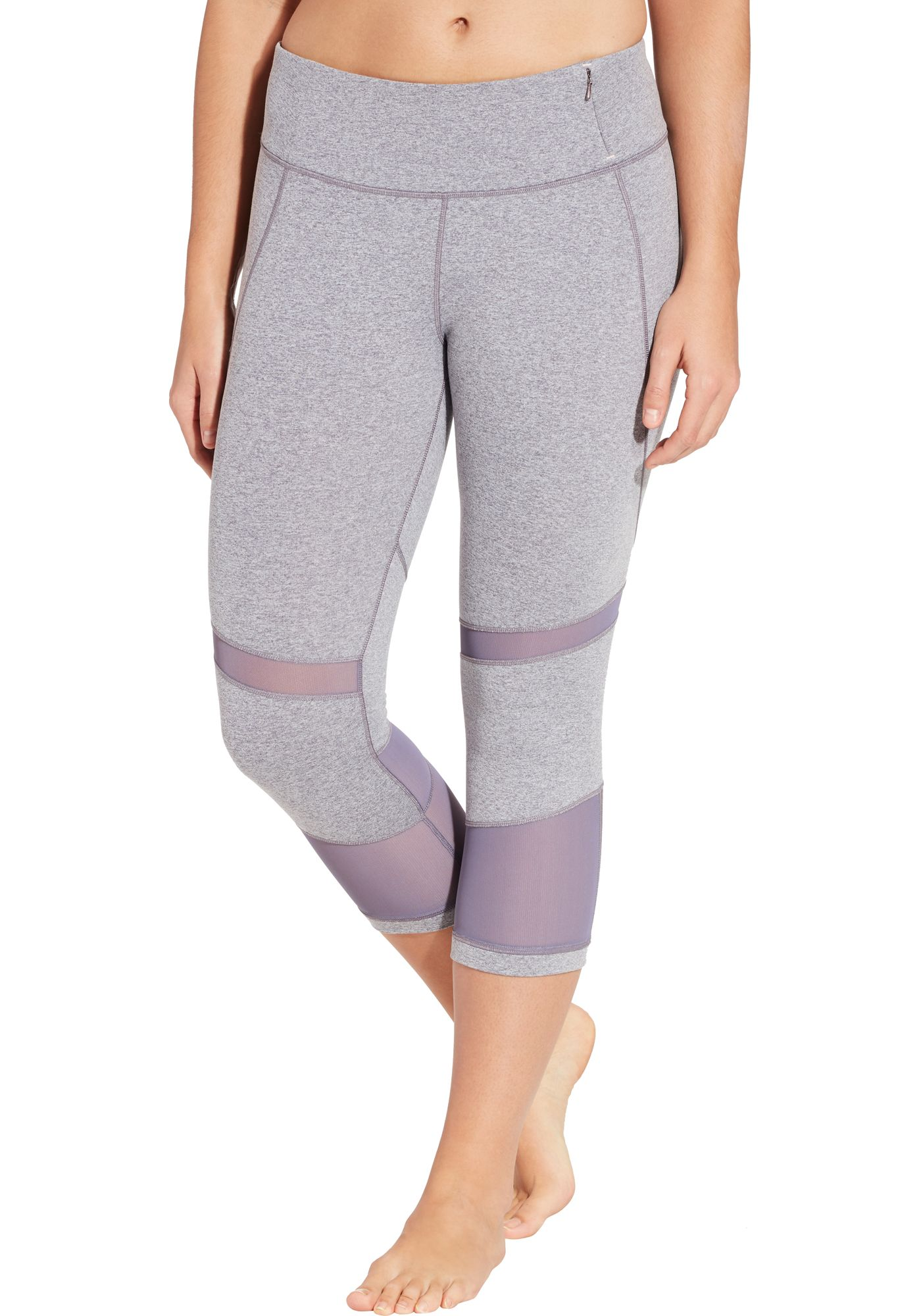 CALIA by Carrie Underwood Women's Heather Filament Capris