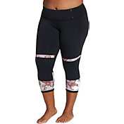 CALIA by Carrie Underwood Women's Plus Size Filament Capris