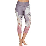 CALIA by Carrie Underwood Women's Printed Filament Capris