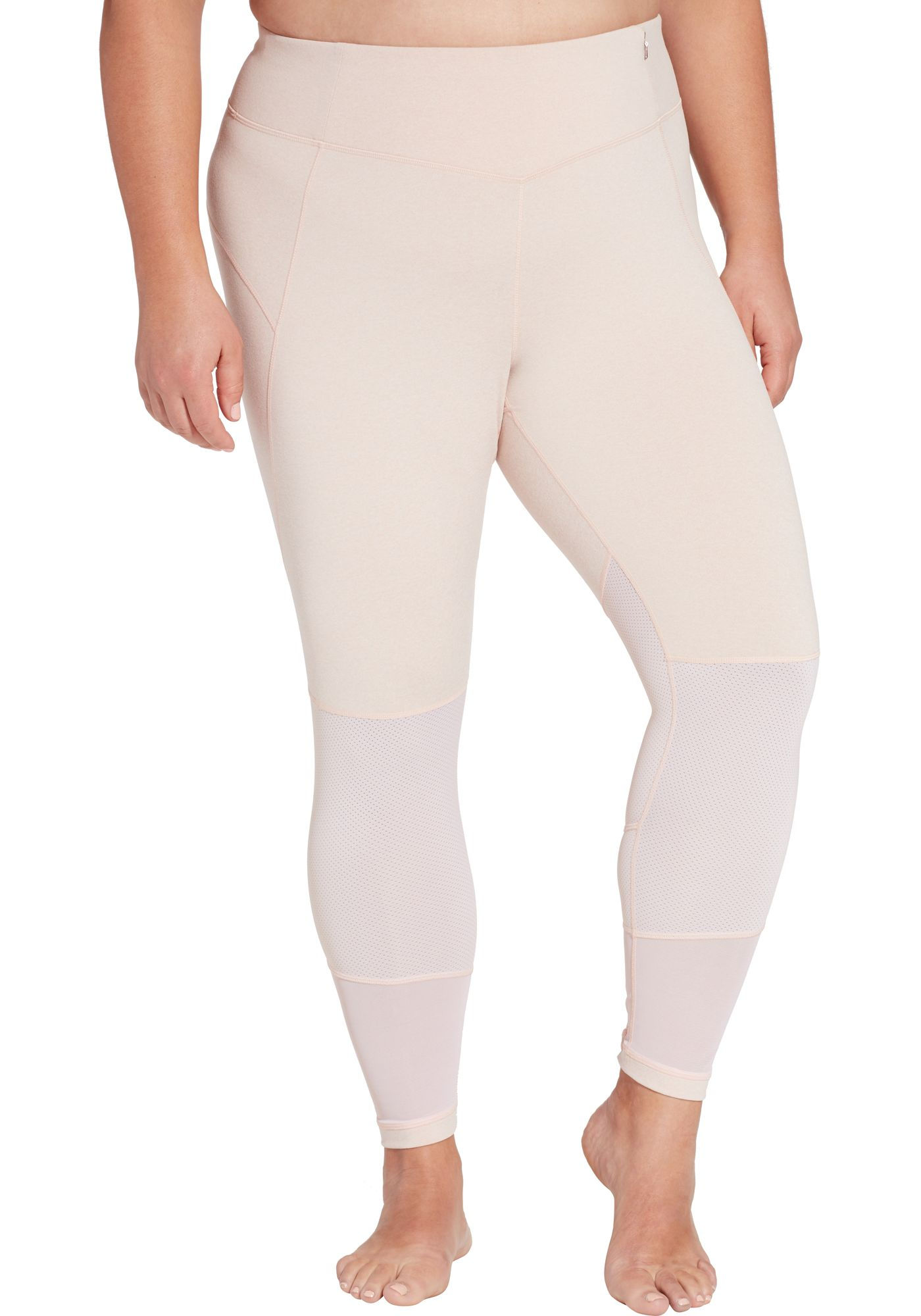CALIA by Carrie Underwood Women's Plus Size Essential Heather Filament Leggings