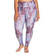 CALIA by Carrie Underwood Women's Plus Size Essentials Printed Zipper Pocket Leggings