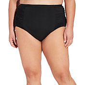 CALIA by Carrie Underwood Women's Plus Size High Waisted Bikini Bottoms
