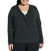 CALIA by Carrie Underwood Women's Plus Size Effortless Wrap Cardigan