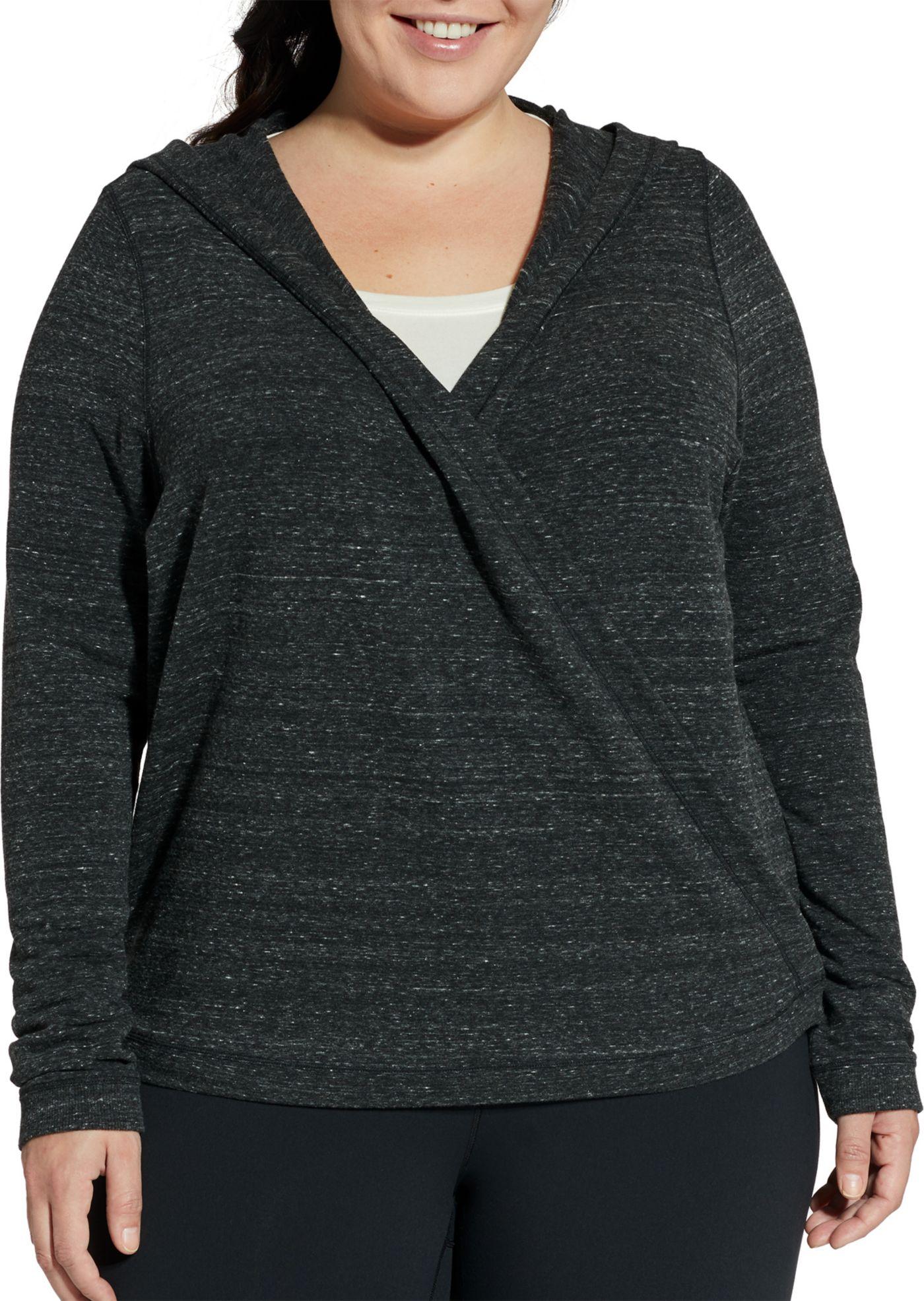 CALIA by Carrie Underwood Women's Plus Size Effortless Wrap Cardigan