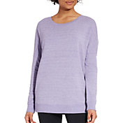 CALIA by Carrie Underwood Women's Effortless Zip Detail Sweatshirt