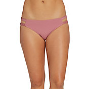 CALIA by Carrie Underwood Women's Elastic Side Swim Bottom