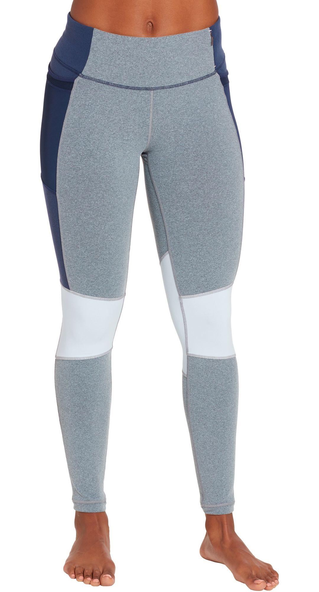 ec0940adb8 CALIA by Carrie Underwood Women's Essential Mesh Trim Leggings ...