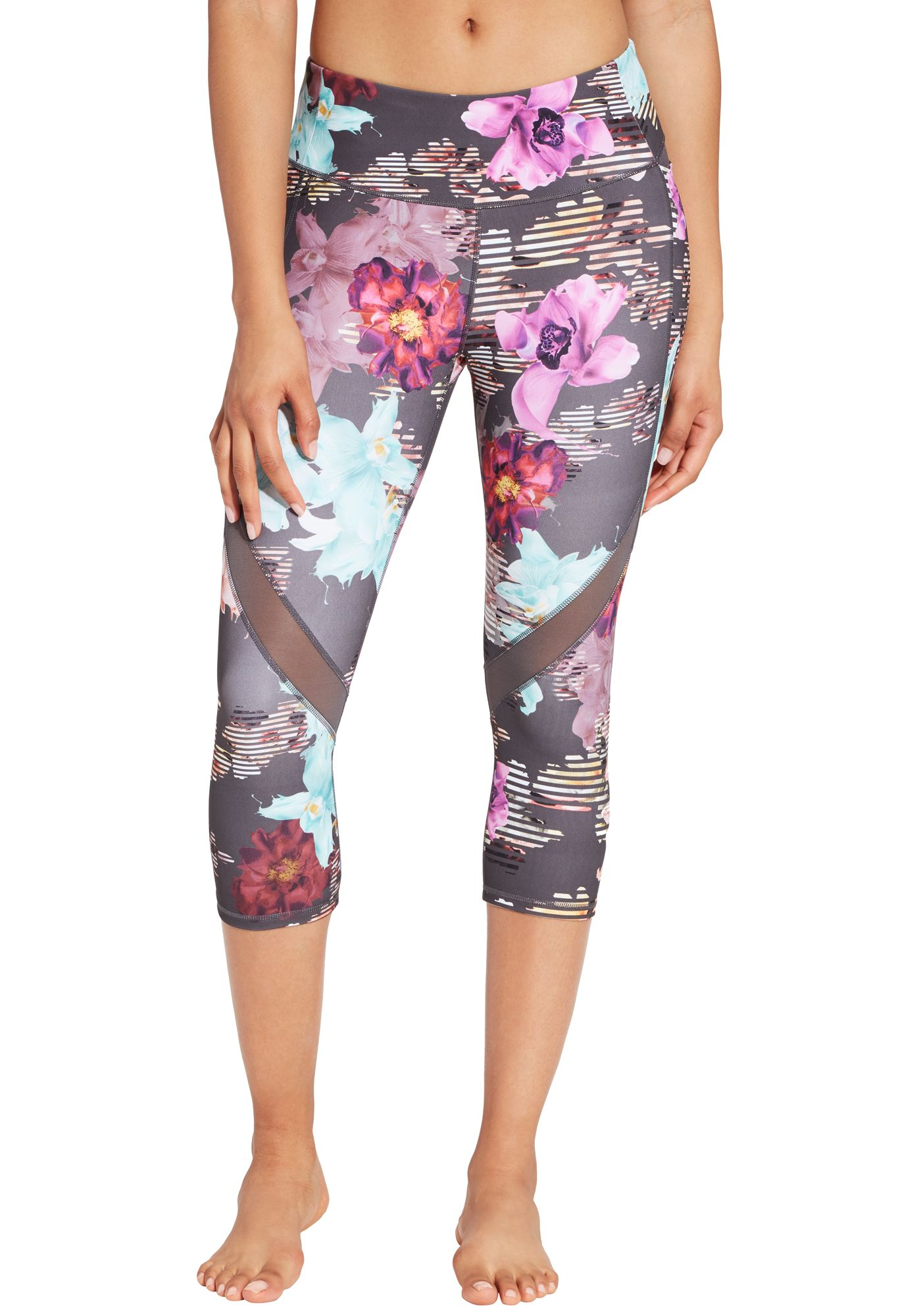 CALIA by Carrie Underwood Women's Printed Energize Capris