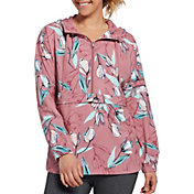 CALIA by Carrie Underwood Women's Anywhere Printed Woven Pullover 1/2 Jacket