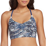 CALIA by Carrie Underwood Women's Ladder Back Swim Top (Regular and Plus)