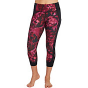 CALIA by Carrie Underwood Women's Essentials Printed Open Slit Capris