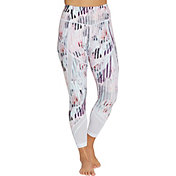CALIA by Carrie Underwood Women's Essential Printed Mesh 7/8 Leggings