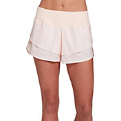 CALIA by Carrie Underwood Women's Anywhere Printed Petal Hem Shorts
