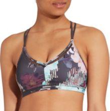 2da5393c59 CALIA by Carrie Underwood Women's Ruched Trim Printed Bikini Top