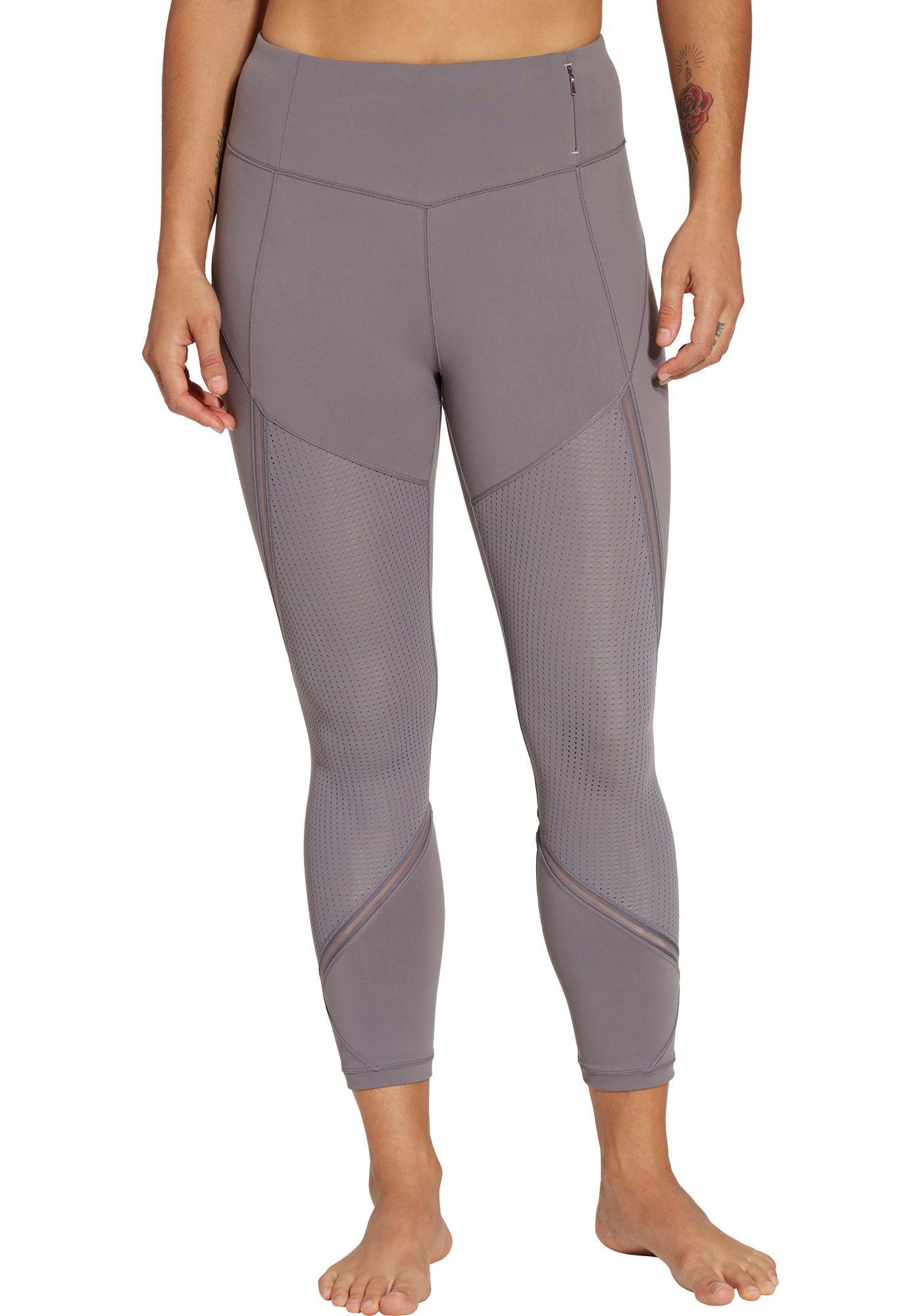 CALIA by Carrie Underwood Women's Essential Mesh 7/8 Leggings