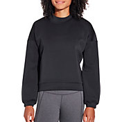 CALIA by Carrie Underwood Women's Mesh Back Pullover Sweatshirt