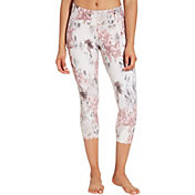 CALIA by Carrie Underwood Women's Printed Essential No Seam Capris