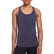 CALIA by Carrie Underwood Women's Move Stripe Tank Top