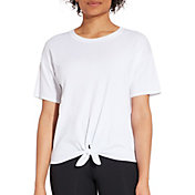 CALIA by Carrie Underwood Women's Tie Front T-Shirt