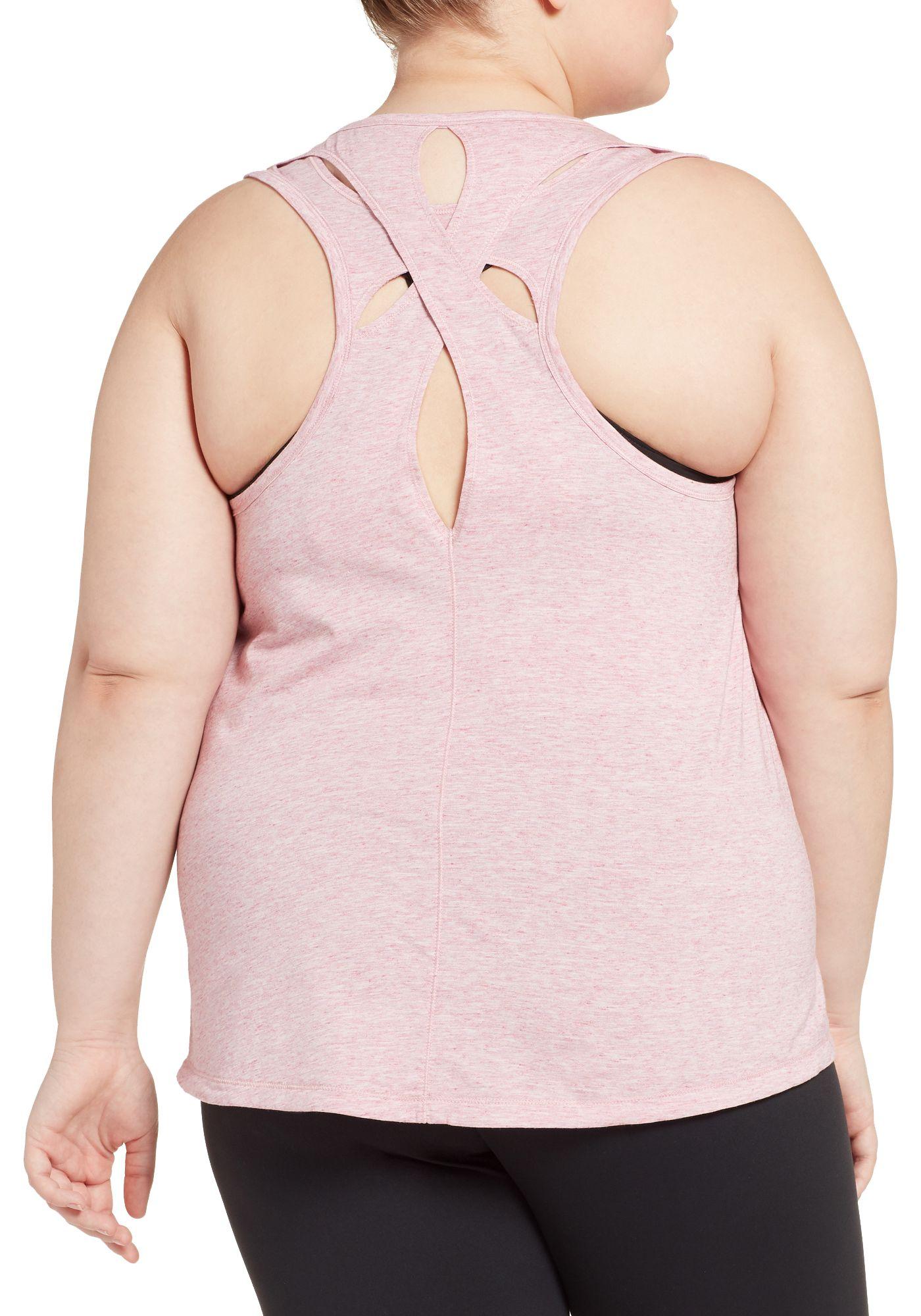 CALIA by Carrie Underwood Women's Plus Size Teardrop Tank Top