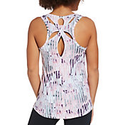 773d8081d6c074 Product Image · CALIA by Carrie Underwood Women s Printed Teardrop Tank Top