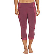 CALIA by Carrie Underwood Women's Heather Twist Capris