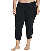 CALIA by Carrie Underwood Women's Plus Size Twist Capris