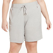 CALIA by Carrie Underwood Women's Plus Size Anywhere Heather Bermuda Shorts