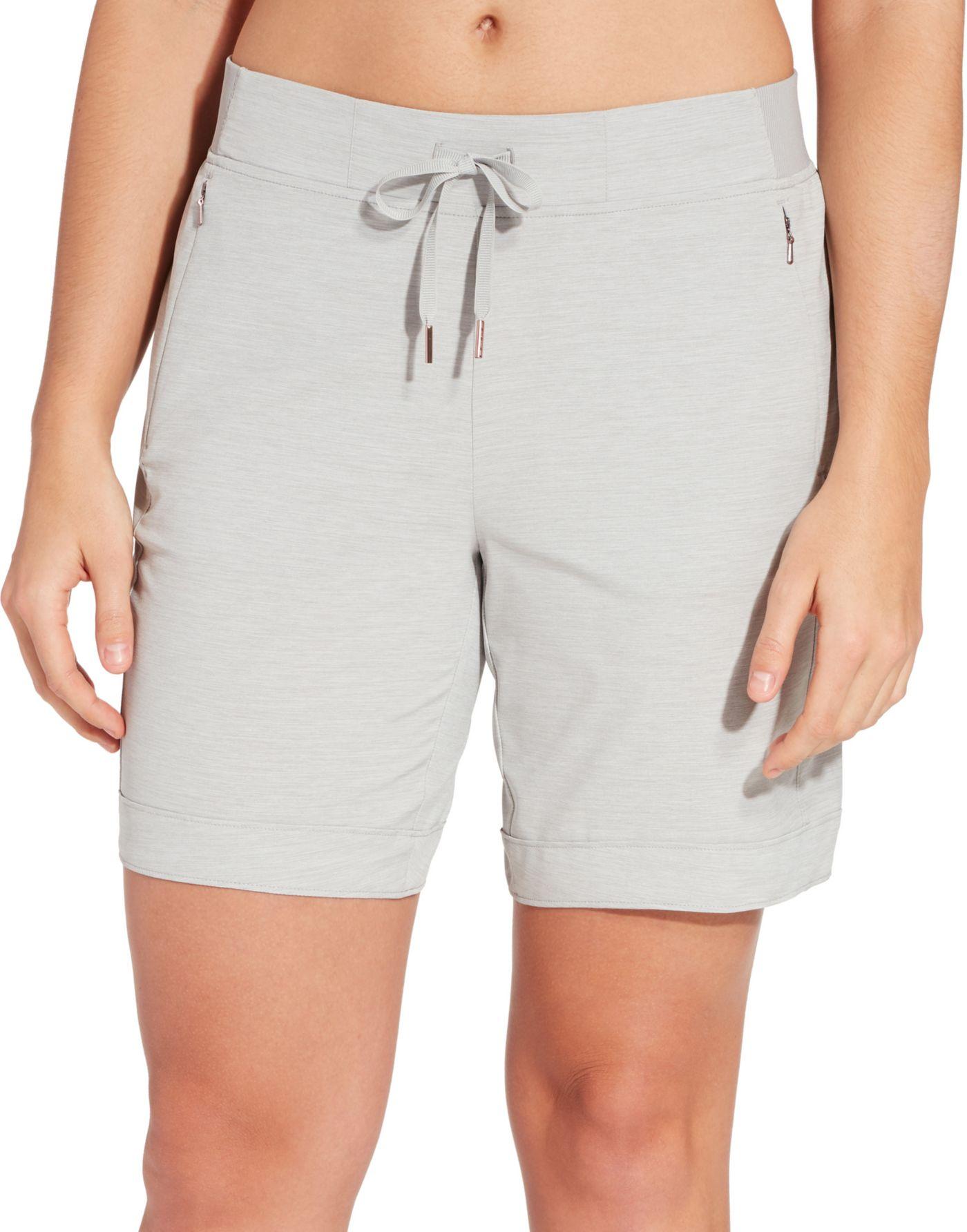 CALIA by Carrie Underwood Women's Anywhere Heather Bermuda Shorts