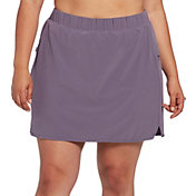 CALIA by Carrie Underwood Women's Plus Size Anywhere Woven Skort