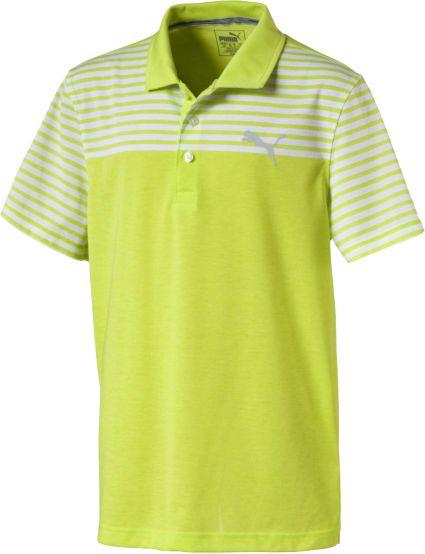 PUMA Boys' Clubhouse Jr. Golf Polo