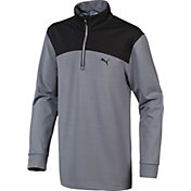 PUMA Boys' Colorblock Golf ¼ Zip