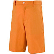 PUMA Boys' Heather Pounce Jr Golf Shorts