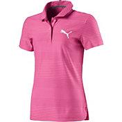 PUMA Girls' Aston Golf Polo