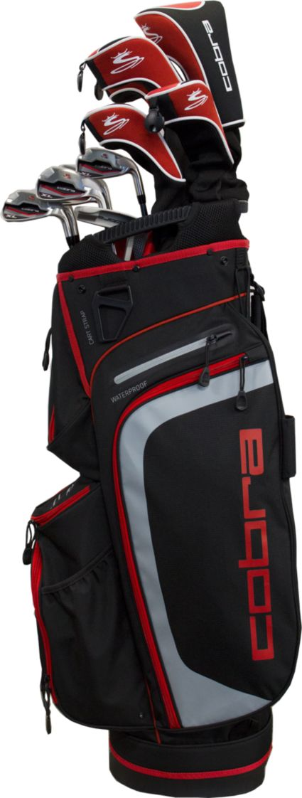 Cobra XL Complete Set – (Graphite) – Black/Red