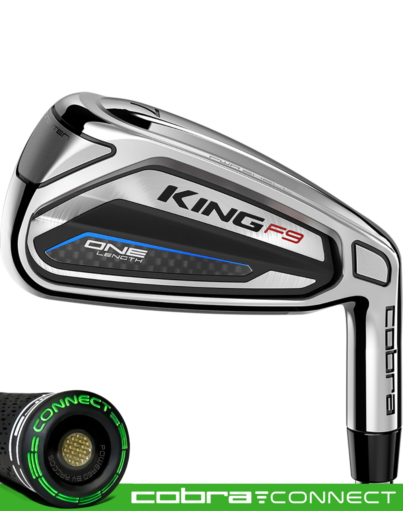Cobra KING F9 Speedback ONE Length Irons – (Steel)