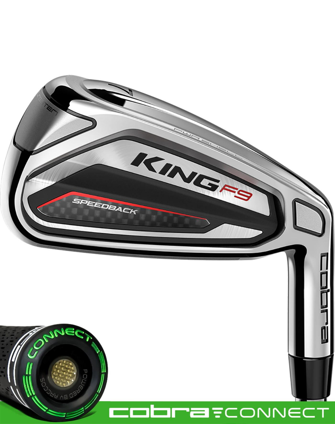 Cobra KING F9 Speedback Irons – (Steel)