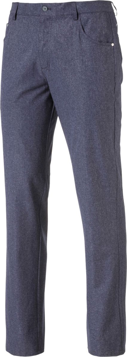 PUMA Men's Heather 6-Pocket Golf Pants