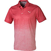 PUMA Men's Heather Gradient Golf Polo