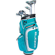 Cobra Women's XL Complete Set – (Graphite) – Blue/White