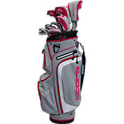 Cobra Women's XL Complete Set – (Graphite) – Silver/Pink