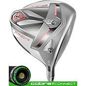 Cobra Women's KING F9 Speedback Driver – White/Rose Gold