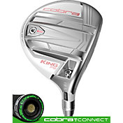 Cobra Women's KING F9 Speedback Fairway Wood – White/Rose Gold